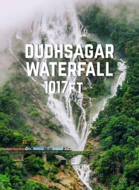 Dudhsagar Falls (Height 1017ft), 4x4 Jeep Safari, Spice Plantation +1 - Full Day Tour