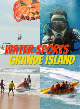 Scuba Diving + 5 Watersports Combo at Grande Island Goa