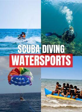 Scuba Diving + 5 Watersports Combo at Shiroda Paradise Beach