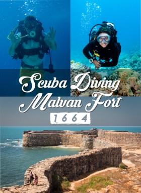 Scuba Diving in Malvan - Dive next to Shivaji Fort