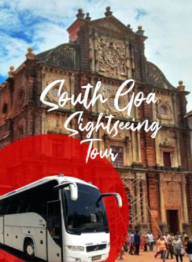 South Goa Sightseeing Full Day Tour by AC Coach