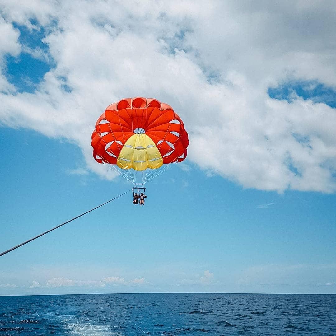 goa watersports combo - parasailing ride