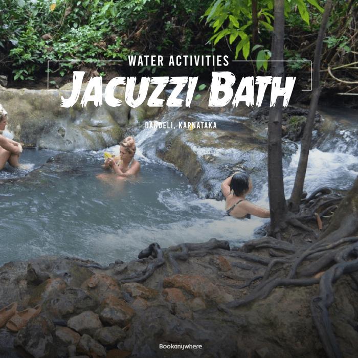 dandeli jacuzzi bath