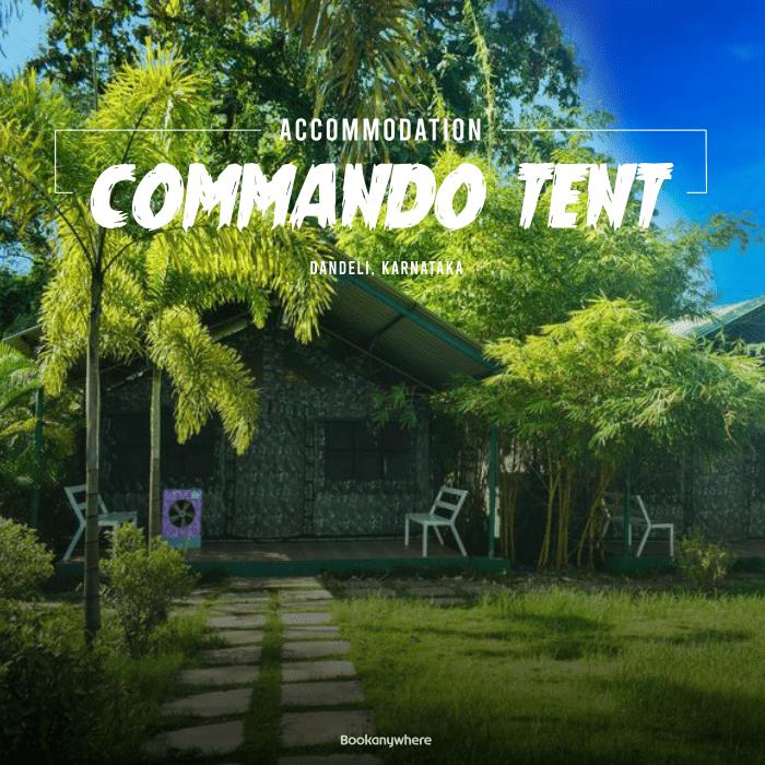 dandeli commando tent stay