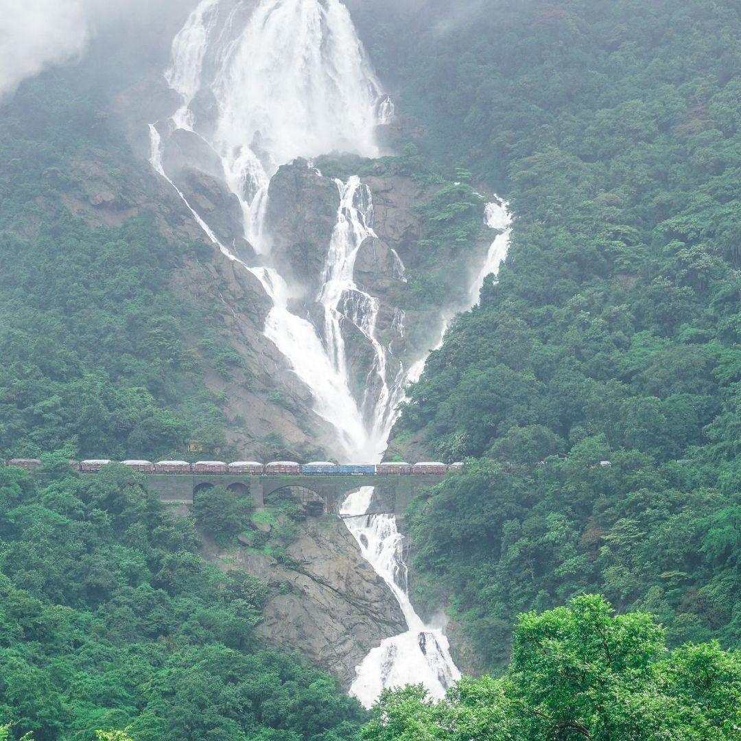 Dudhsagar Waterfall trip from Goa
