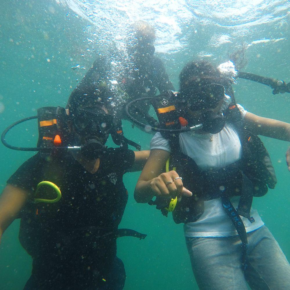 Scuba Diving at Grande Island Goa