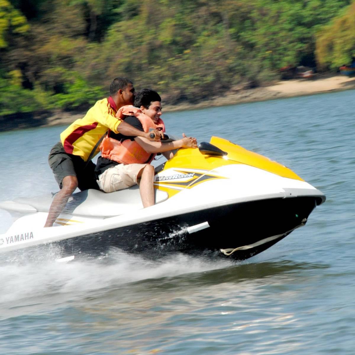 jetski ride at devbag beach